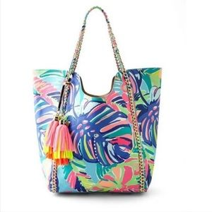 Lilly Pulitzer Reversible Pool Tote
